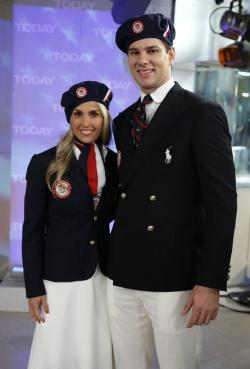Heather Mitts and Tim Morehouse appear on NBC News' 'Today' show.