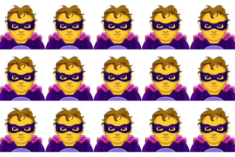 Supervillain emojis.