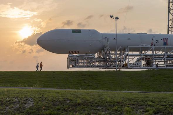 SpaceX: Second launch in less than two weeks.