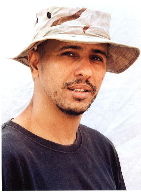 Undated photo of Mohamedou Ould Slahi taken by the ICRC at Guantanamo.