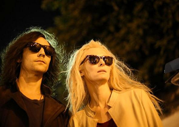 Tom Hiddleston and Tilda Swinton in Only Lovers Left Alive.