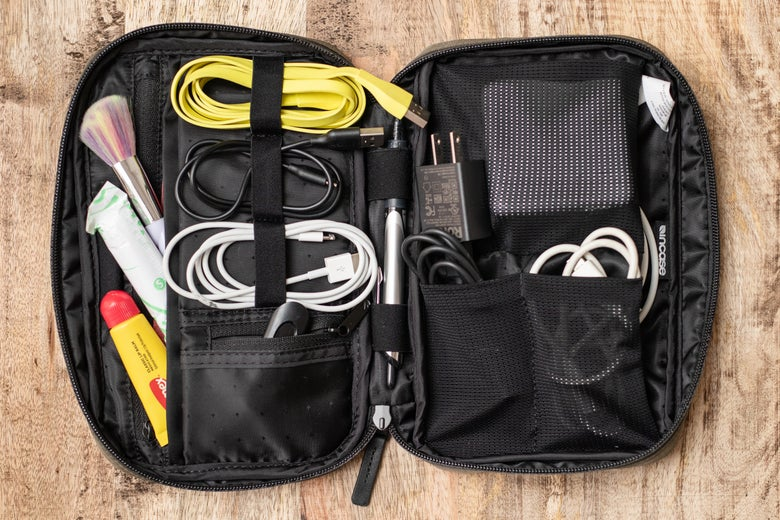 inside Incase Nylon Accessory Organizer