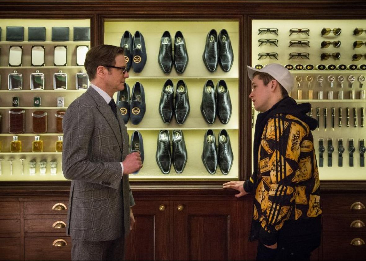 Kingsman: The Secret Service.