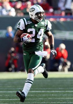 Darrelle Revis of the New York Jets.