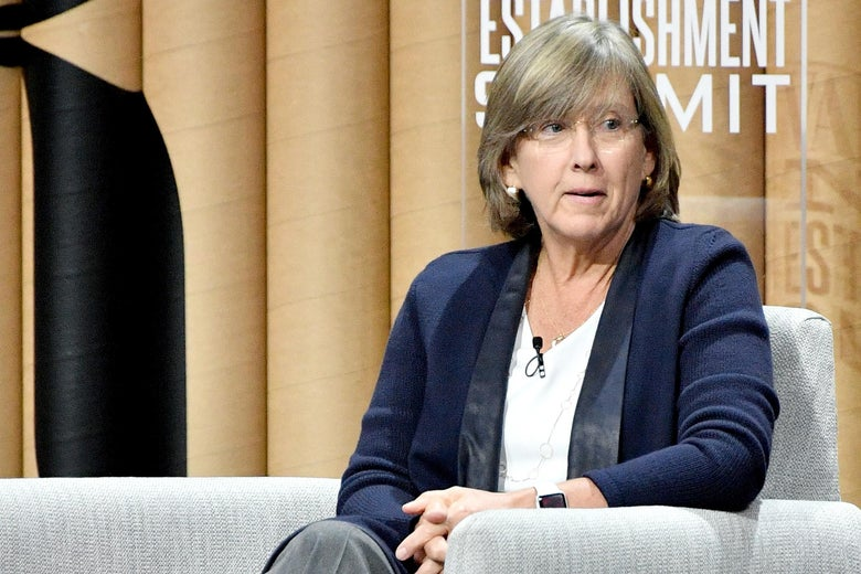 SAN FRANCISCO, CA - OCTOBER 19:  Partner at KPCB, Mary Meeker, speaks onstage during 'The State of the Valley: Where's the Juice?' at the Vanity Fair New Establishment Summit at Yerba Buena Center for the Arts on October 19, 2016 in San Francisco, California.  (Photo by Mike Windle/Getty Images for Vanity Fair)