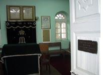 The synagogue of Addis Ababa