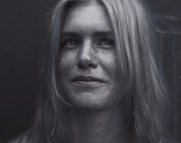 UV portrait.