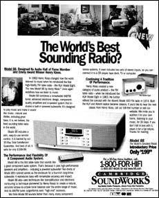 Cambridge SoundWorks 88 advertisement