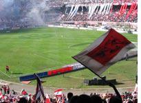 The crowd at El Monumental stadium