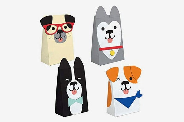 Puppy Dog Party Paper Favor Bags