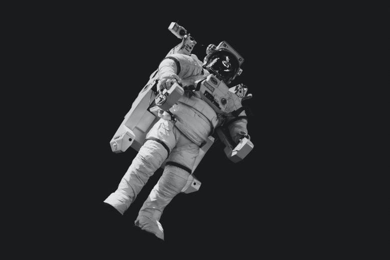 An astronaut.