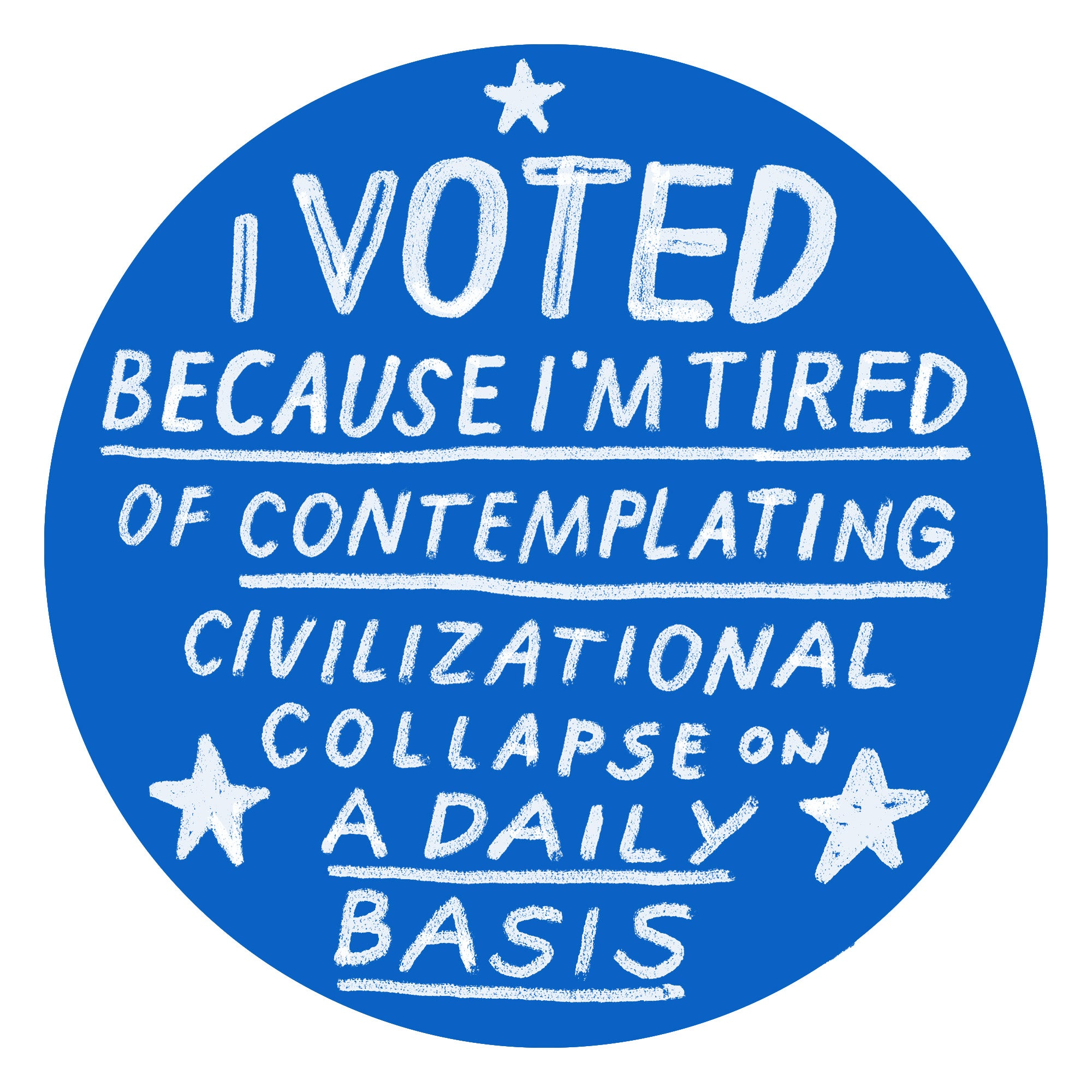 photograph regarding I Voted Stickers Printable named I Voted\u201d stickers for the 2018 midterm elections: Print