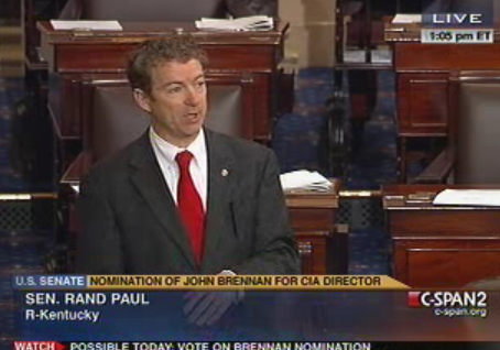 Sen. Rand Paul on the Senate floor