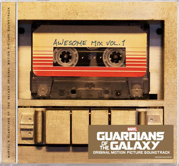 Album art for Guardians of the Galaxy: Awesome Mix Vol. 1
