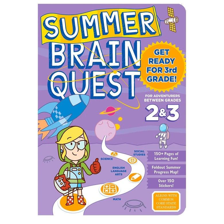 Summer Brain Quest workbook.