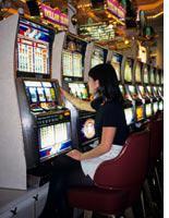 Slots at a casino. Click image to expand.