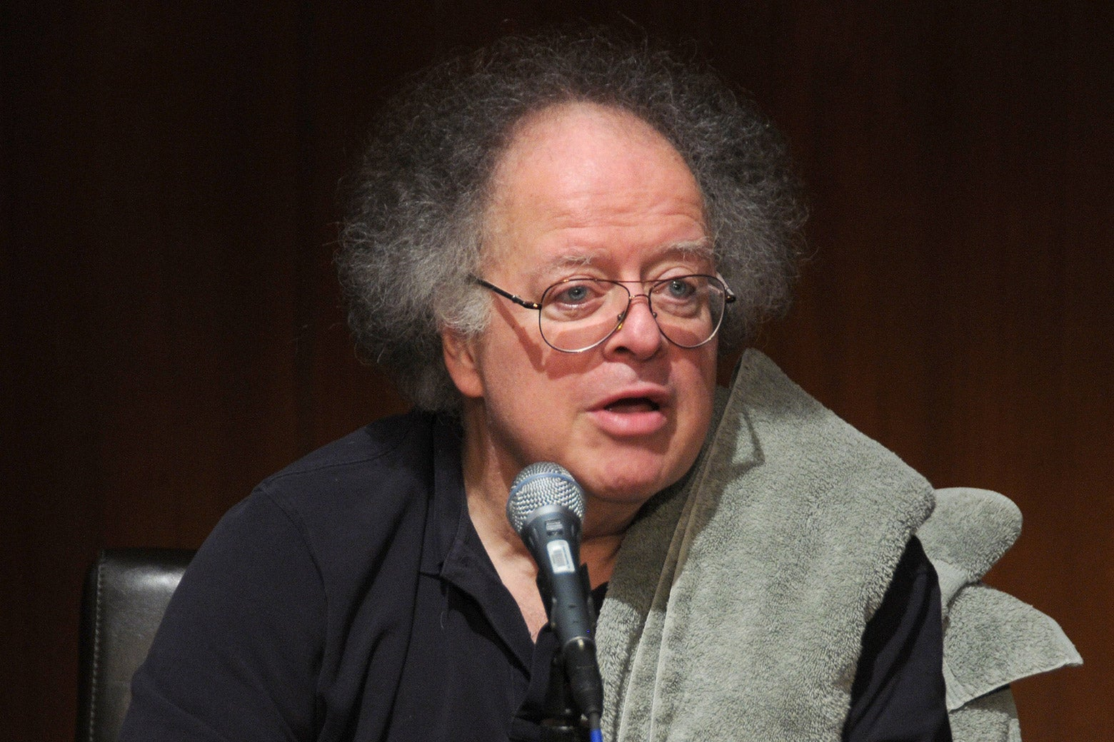 Music Director of the Metropolitan Opera James Levine speaks at the Metropolitan Opera's press conference to announce its 2011-2011 season at The Metropolitan Opera House on February 16, 2011 in New York City.