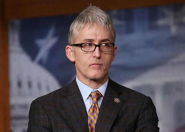 Rep. Trey Gowdy (R-SC) participates in a news conference on immigration.