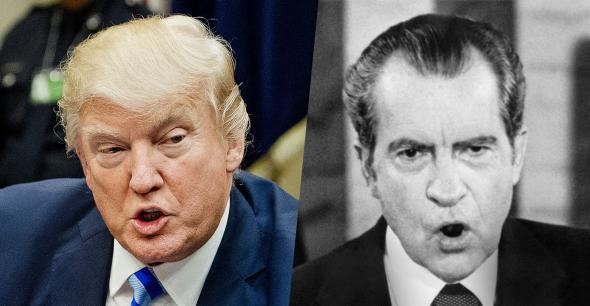 Donald Trump, Richard Nixon.