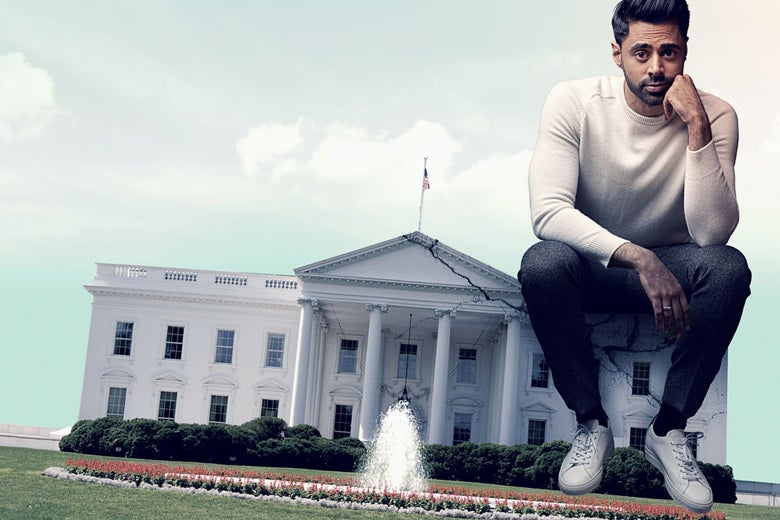 Patriot Act With Hasan Minhaj might be Netflix's first talk show hit