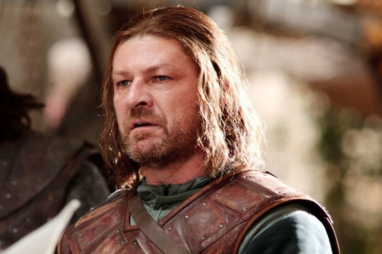 Ned Stark on Game of Thrones