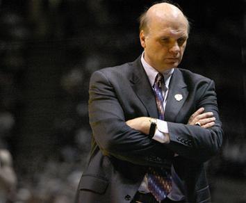 Head coach Phil Martelli of the St. Joseph's Hawks.