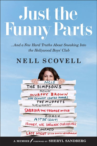 The cover of Scovell's book