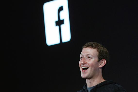 Mark Zuckerberg, Facebook's co-founder and chief executive introduces 'Home' a Facebook app suite that integrates with Android.
