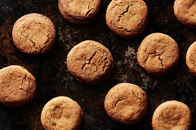 The Chewiest, Crackliest Molasses Cookies Have a Genius Little Secret