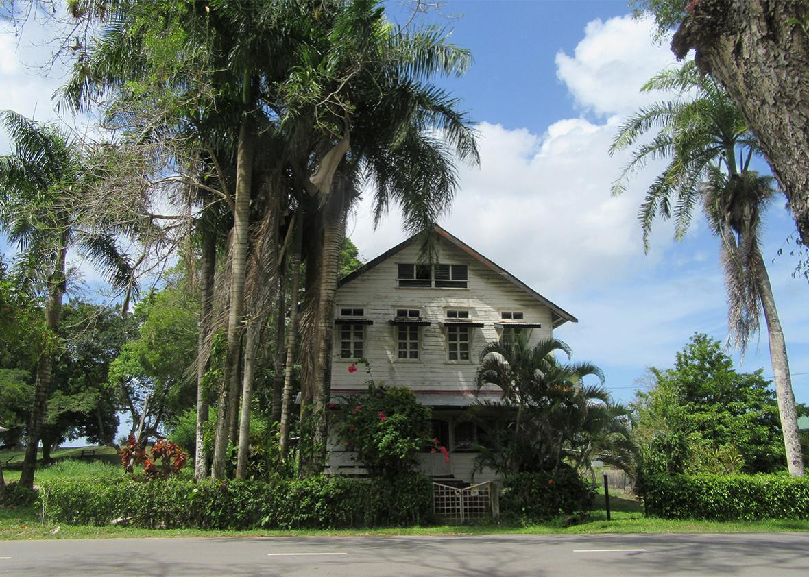 A former plantation house in the Commewije district of Paramaribo.