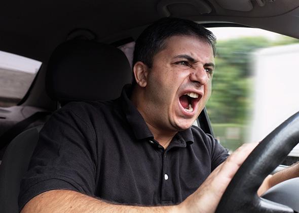 Angry Driver.