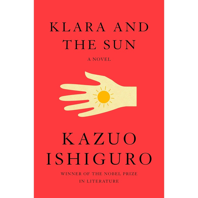 The cover of Klara and the Sun.