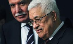 Palestinian leader Mahmoud Abbas attends the opening of the General Assembly. Click image to expand.