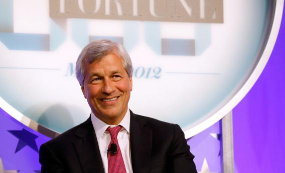 "Chairman and CEO, JPMorgan Chase, James ""Jamie"" Dimon"