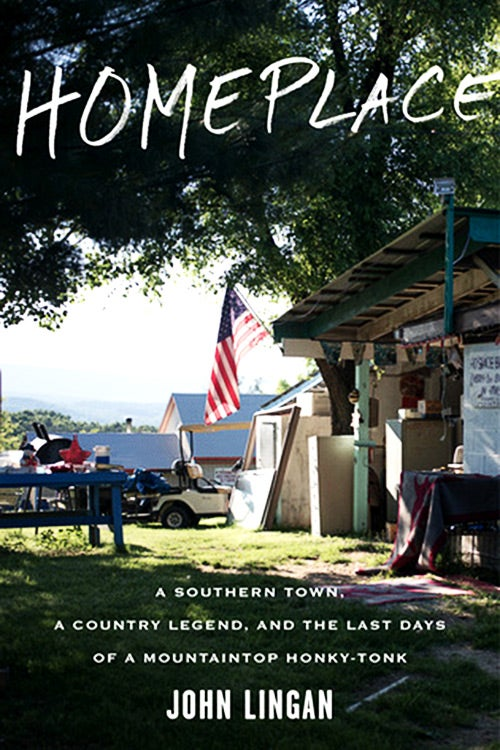 The cover of John Lingan's book Homeplace.