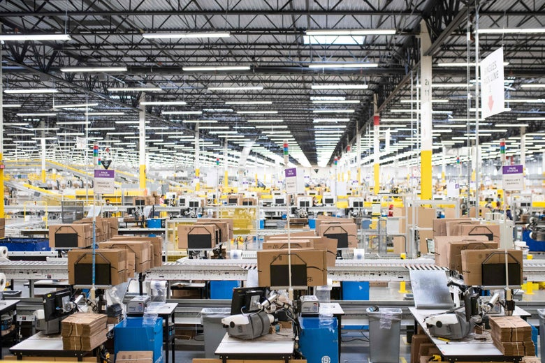 Labor advocates have long criticized Amazon for its treatment of warehouse workers.