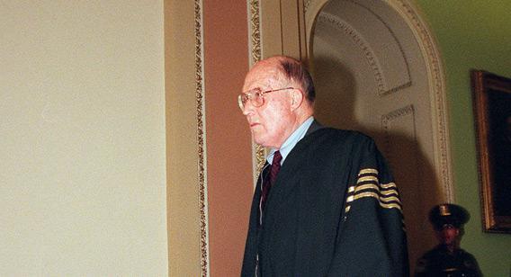US Supreme Court Justice William Hubbs Rehnquist