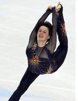 Russian skater Irina Slutskaya. Click image to expand.