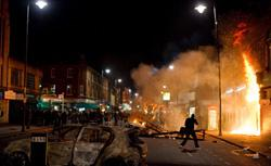 London riots, 2011. Click image to expand.