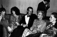 Liza Minnelli, Liz Taylor, Halston, Betty Ford, Martha Graham