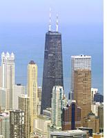 John Hancock Building in Chicago.         Click image to expand.