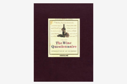 Wine Questionnaire book.