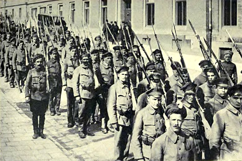 Heltai's sailors, supporters of the 1918–19 Hungarian Revolution