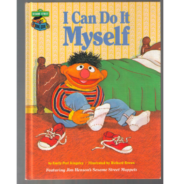 The Sesame Street book I Can Do It Myself.