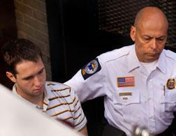Security escorts Raymond Clark III. Click image to expand.