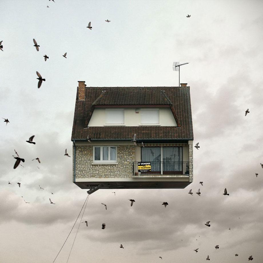 Laurent Chehere Flying Houses 3.