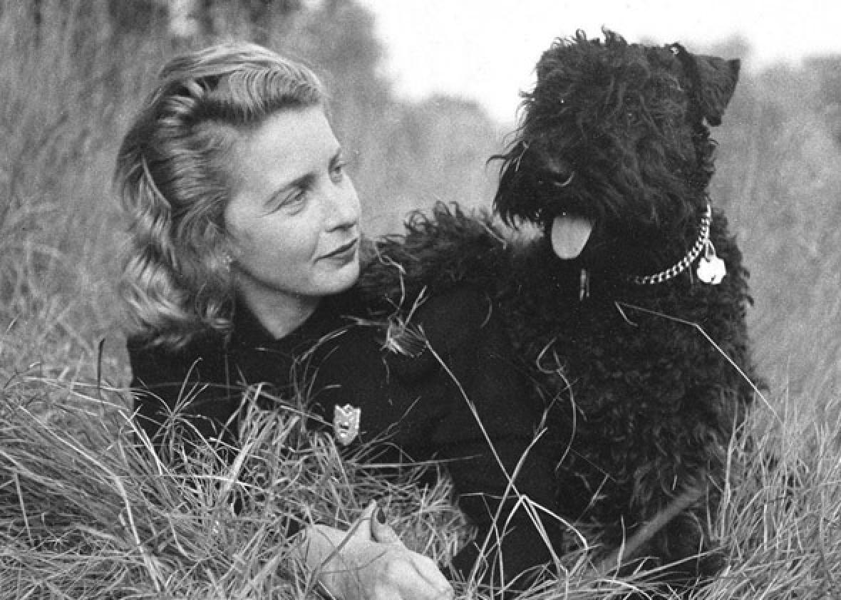 Children's book author Margaret Wise Brown