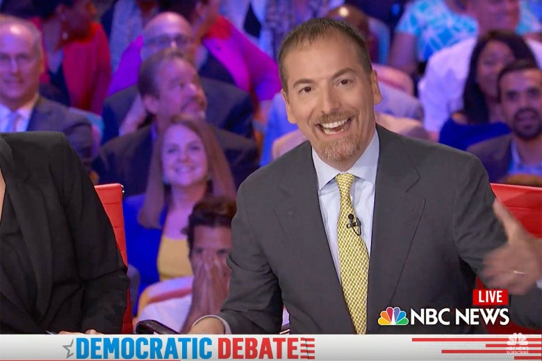 new style cbe07 3ddfd Chuck Todd mucked up the Democratic debate.