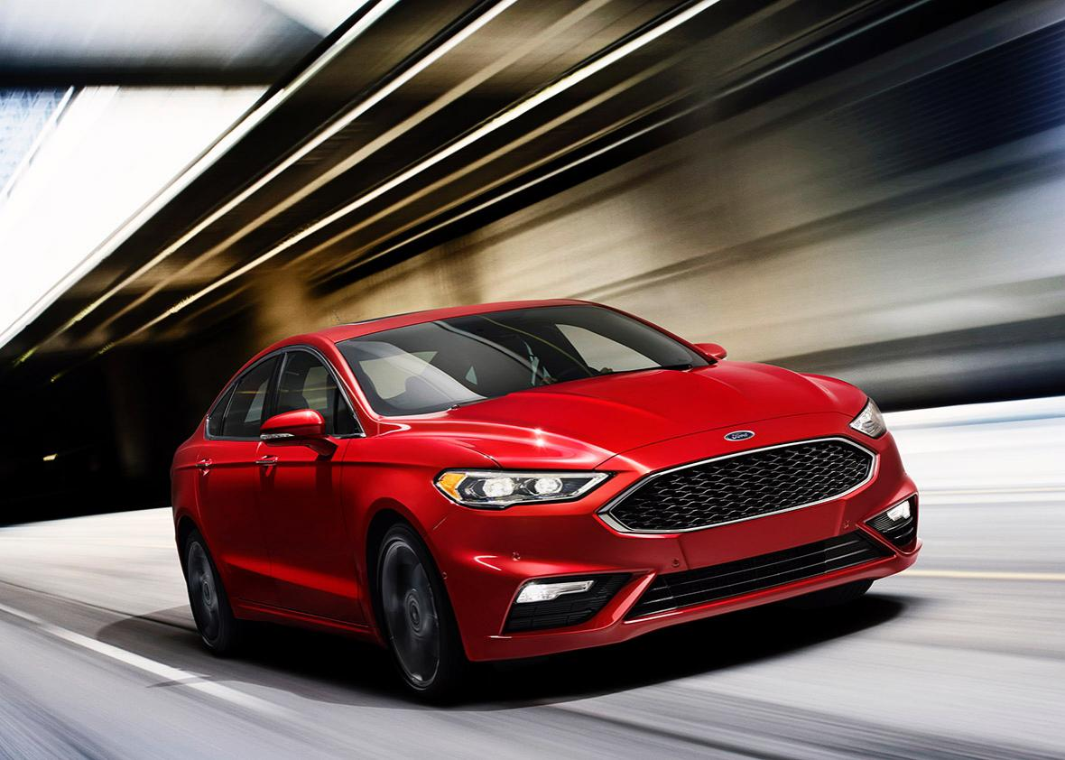 2017 Ford Fusion.