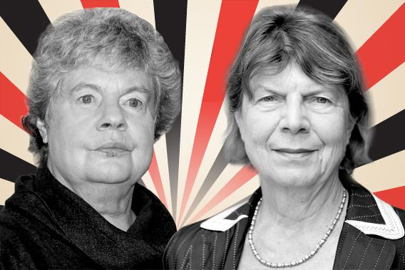 A S Byatt versus Margaret Drabble